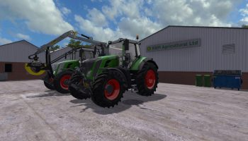 FENDT 800 S4 PROFI PLUS V1.0.0.3 для Farming Simulator 2017