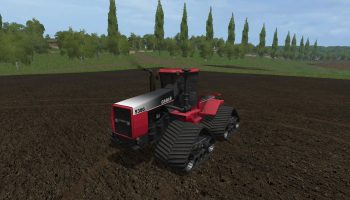 FS17 CASE STEIGER STX 450 V1.0 для Farming Simulator 2017