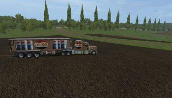 FS17 PEPSI COLA TRUCK & TRAILER V1.0 для Farming Simulator 2017