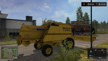 NEW HOLLAND TX 65 V1.0 для Farming Simulator 2017