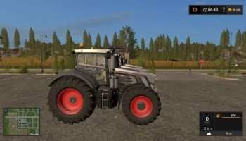 FENDT 900 BLACK V1.1.2.1 для Farming Simulator 2017