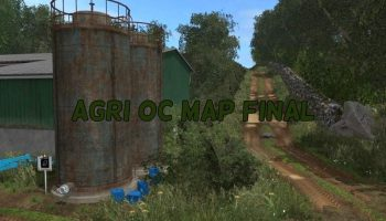 AGRI OC MAP FINAL для Farming Simulator 2017