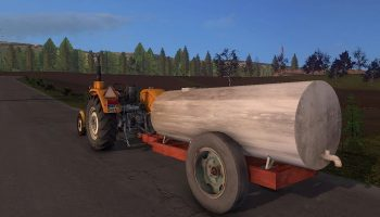 SAMOROBKA BARREL V1.0 для Farming Simulator 2017