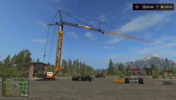 LIEBHERR 81K V1.0.0.0 для Farming Simulator 2017
