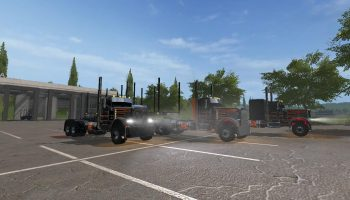 CC PETERBILT 379 V1.0.0.0 для Farming Simulator 2017