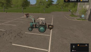 UMZ-6KL PKU V1.3 для Farming Simulator 2017