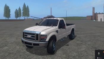 FORD F350 REGULARCAB для Farming Simulator 2017