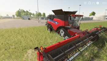NEW HOLLAND COMBINE AND HEADER PACK для Farming Simulator 2019