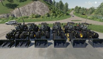 NEW HOLLAND W190D WHEEL LOADER для Farming Simulator 2019