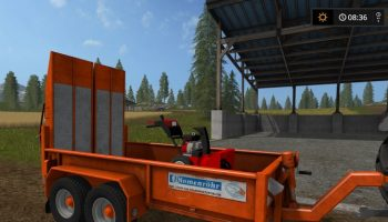 Прицеп-трансформер Blomenroehr Trailer для Farming Simulator 2017