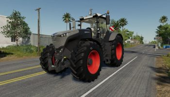 FENDT VARIO 1000 BLACK BEAUTY V 1.0 для Farming Simulator 2019