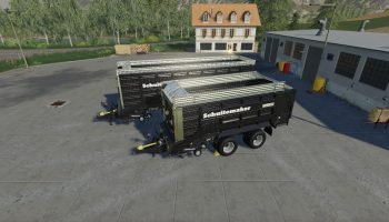 CSS SCHUITEMAKER RAPIDE BLACKLINE PACK для Farming Simulator 2019