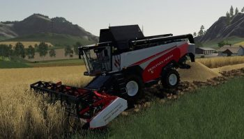 RSM161 WITH CUTTING ATTACHMENT FIX для Farming Simulator 2019