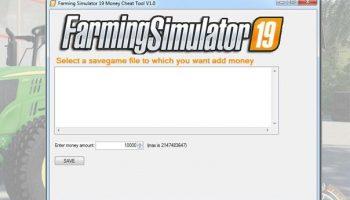 MONEY CHEAT V1.0.0.0 для Farming Simulator 2019