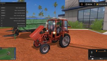 Т-24А V1.0.0.0 для Farming Simulator 2017