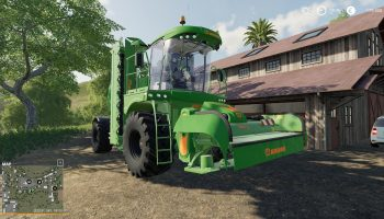 BIGM450 FIX2 BY STEVIE для Farming Simulator 2019