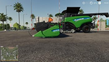 NH CR1090 & SUPERFLEX45FT PACK для Farming Simulator 2019