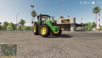 John Deere 6M Chip Tuning v 1.0 для Farming Simulator 2019