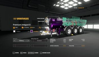 CSS PREMIUM INTEGRAL 30000 METALLIC для Farming Simulator 2019