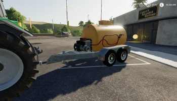 IZARD FUEL TRAILER для Farming Simulator 2019