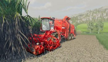 HOLMER TERRA DOS T4 + HOLMER HR12 для Farming Simulator 2019
