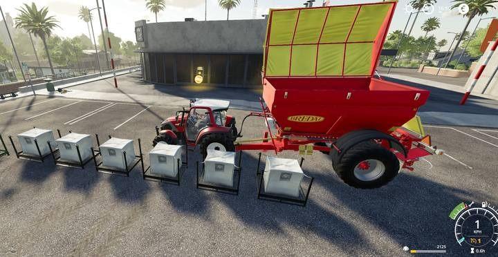 Как загрузить товар в машину в Farming Simulator 19?