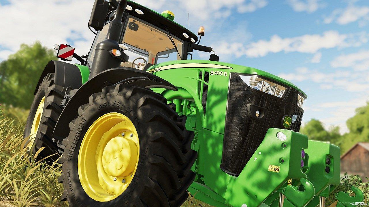 Какой трактор выбрать в начале Farming Simulator 19?
