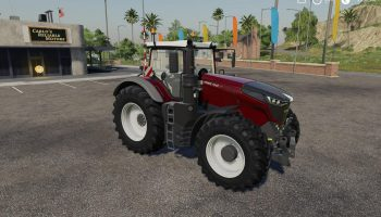 Fendt 1000 Vario Baureihe v1.0.1 FS19 для Farming Simulator 2019