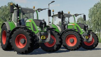 Трактор FENDT 700 Vario v1.0 FS19 для Farming Simulator 2019