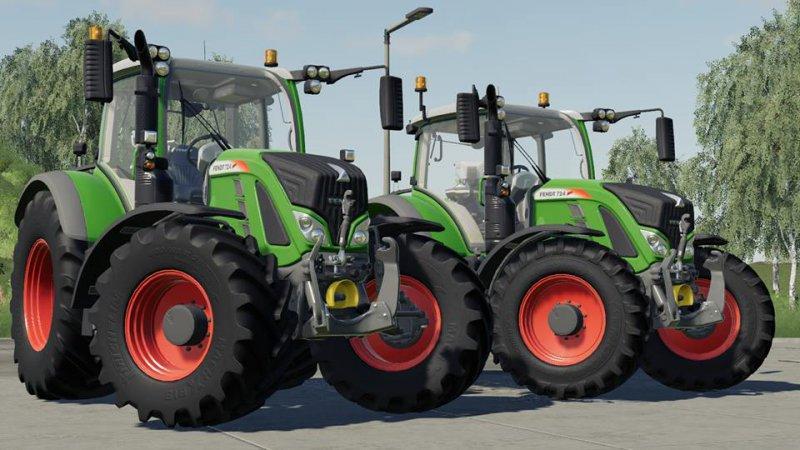 Трактор FENDT 700 Vario v1.0 FS19