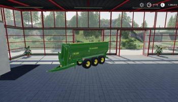 John Deere TX430 трейлер v1.1 для Farming Simulator 2019