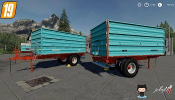 Mengele MEDK Single Axle v1.0 FS19 для Farming Simulator 2019