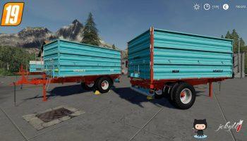Mengele MEDK Single Axle v1.0 FS19 для Farming Simulator 2019
