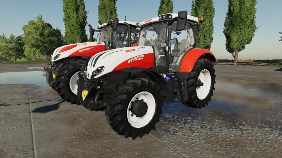 Steyr Tractor Pack v1.0