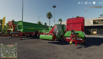 Strautmann Pack OY MP v19.6 для Farming Simulator 2019