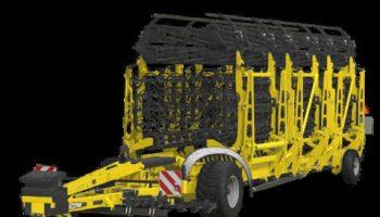 Swifter SM Pflug 18m v1.0 FS19 для Farming Simulator 2019