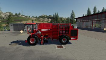 Terra Dos T4-30 v1.0 FS19 для Farming Simulator 2019