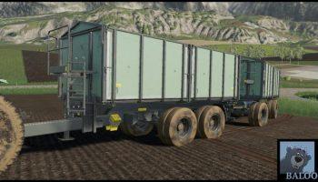 TKD-302 MultiColor v2.0 FS19 для Farming Simulator 2019