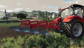 UNIA TUR Плуг Mod Pack V1.0 для Farming Simulator 2019