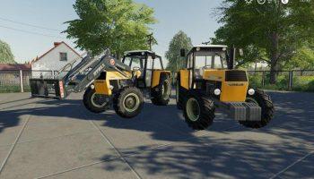 URSUS 1224 v1.0 FS19 для Farming Simulator 2019