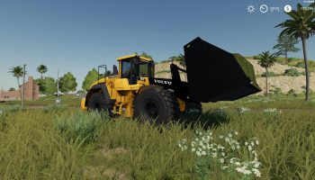 Volvo L220H с ковшом v1.0 FS19 для Farming Simulator 2019