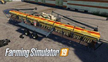 FORTSCHRITT A203 V1.0 для Farming Simulator 2019