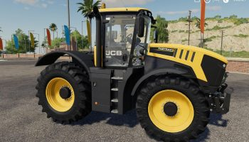 JCB Fastrac 8000 Serie v1.1.0.0 для Farming Simulator 2019