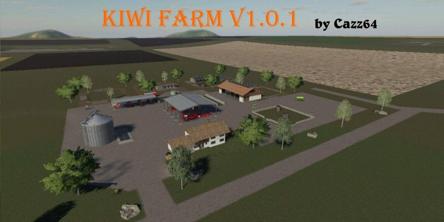 Kiwi Farm Starter map 4x v1.0.1 FS19