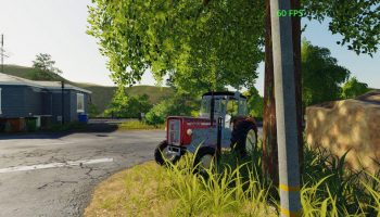 Ursus C355 Czer v1.0 для Farming Simulator 2019