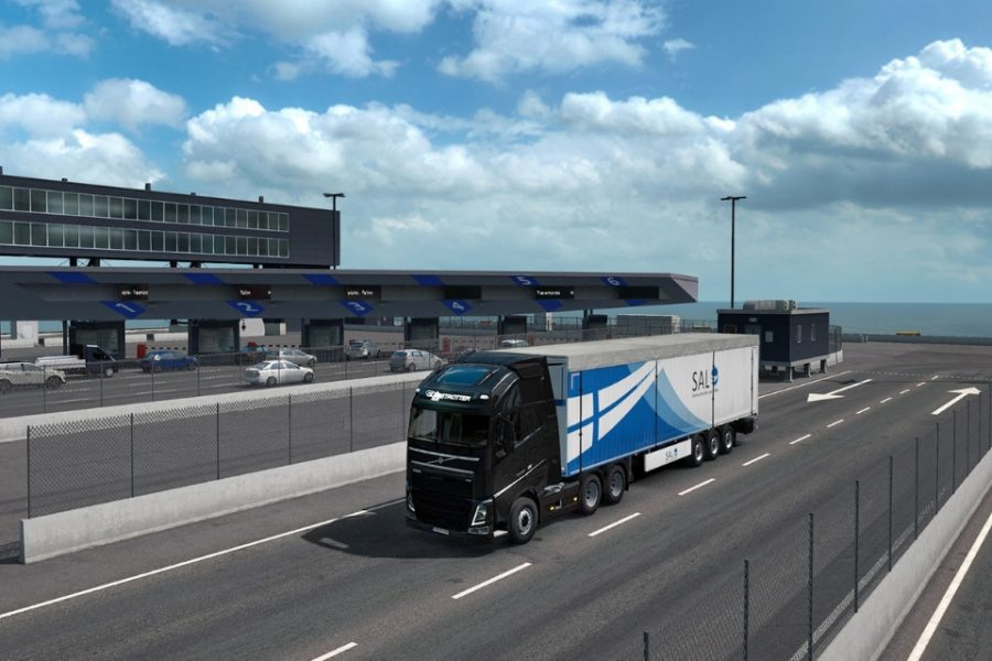 Beyond the Baltic Sea DLC вышло для Euro Truck Simulator 2