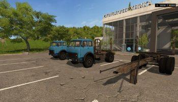 Маз-504 Пак для Farming Simulator 2017