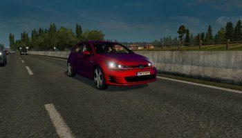 VW Golf 7 GTI для Euro Truck Simulator 2