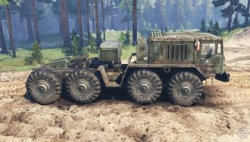 Маз-537 «Асiлак» для Spin Tires