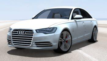 Автомобиль Audi A6 (C7) v1.1 для BeamNG DRIVE